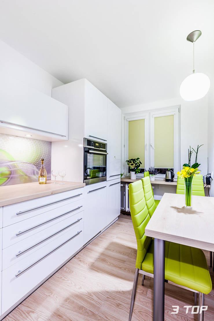Meble kuchenne na wymiar: styl , w kategorii Kuchnia zaprojektowany przez 3TOP