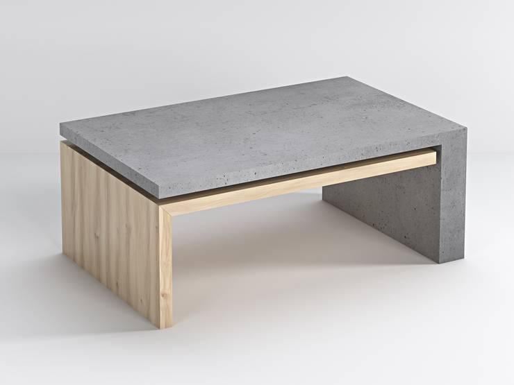 Stolik Lignum: styl , w kategorii Salon zaprojektowany przez Bettoni