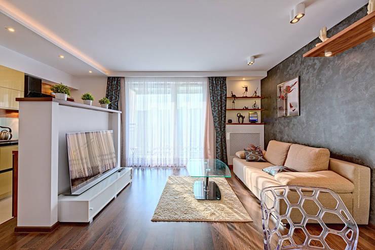 Meble do salonu - 3TOP: styl , w kategorii  zaprojektowany przez 3TOP,Nowoczesny