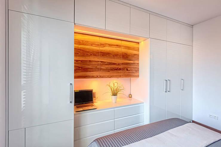 Meble na wymiar do sypialni - 3TOP: styl , w kategorii Sypialnia zaprojektowany przez 3TOP