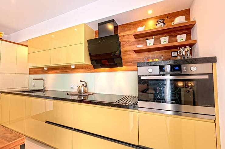 Meble kuchenne na wymiar - 3TOP: styl , w kategorii  zaprojektowany przez 3TOP,Nowoczesny