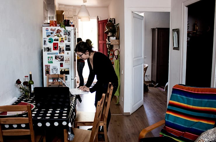 La cocina:  de estilo  de MMMU Arquitectura i Disseny