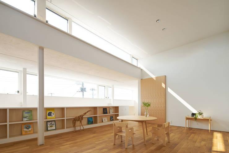 甲斐の家: MAMM DESIGNが手掛けた子供部屋です。