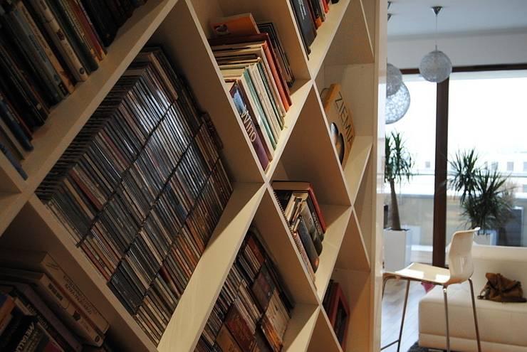 Projekt wnętrza domu w Warszawie od Projektowanie wnętrz Berenika Szewczyk Nowoczesny