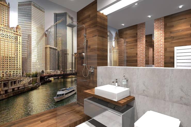 Baños de estilo  por MANUFABRYKA,