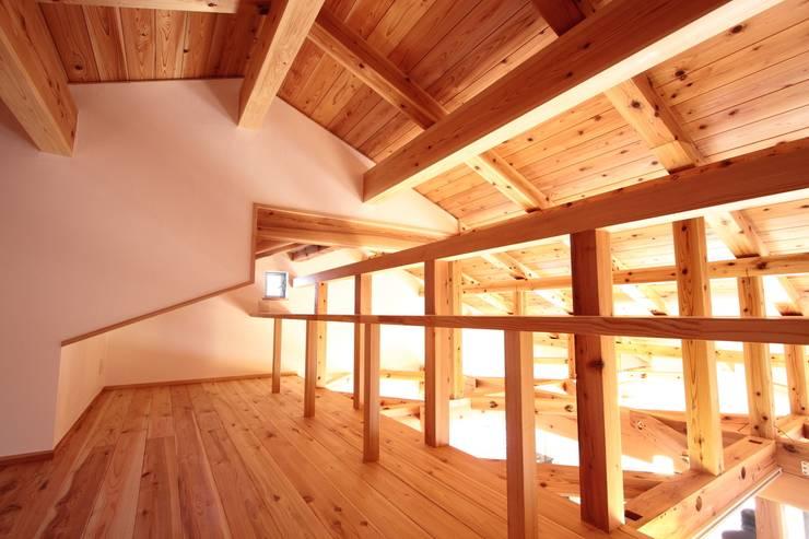 ロフト: 加藤一高建築設計事務所が手掛けた和室です。