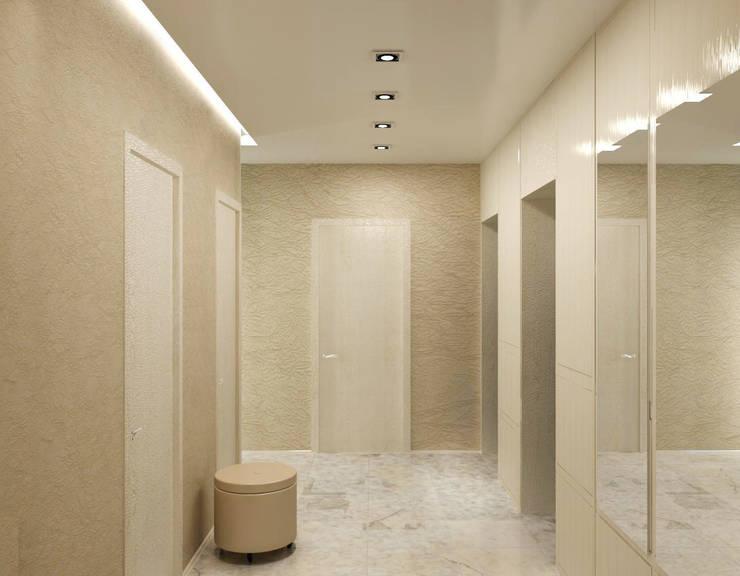 3-х комнатная квартира в ЖК <q>Балтийская Жемчужина</q>: Коридор и прихожая в . Автор – DEMARKA