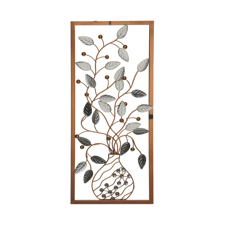 HEYDECO – Çerçeveli Metal Vazo: minimalist tarz , Minimalist