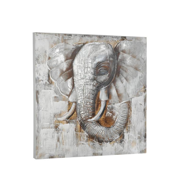 HEYDECO – Yağlı Boya Fil: minimalist tarz , Minimalist