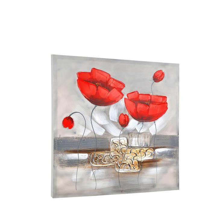 HEYDECO – Kırmızı Gelincikler: minimalist tarz , Minimalist