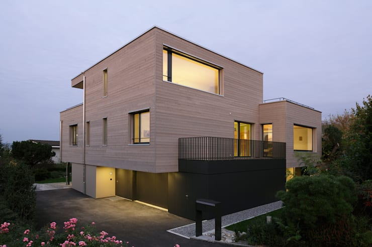 modern Houses by HKK Architekten Partner AG