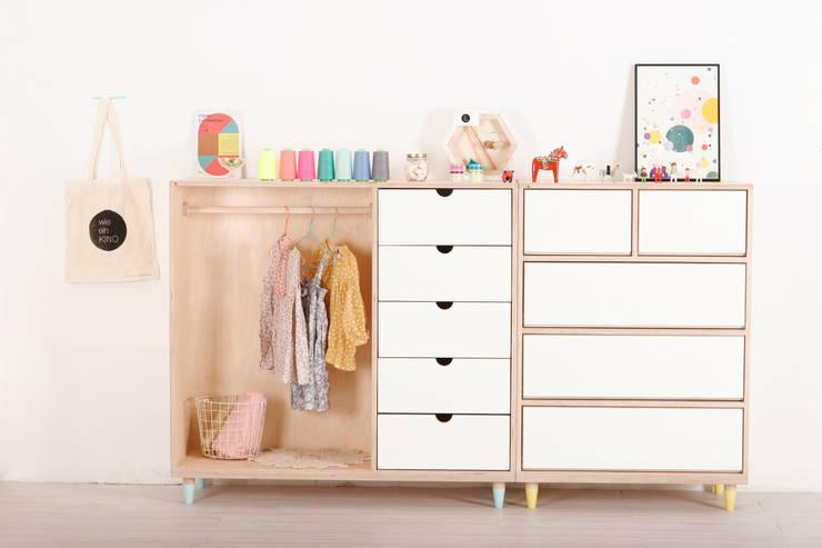 ice cream closet / chest: wie ein KINO의  아이 방
