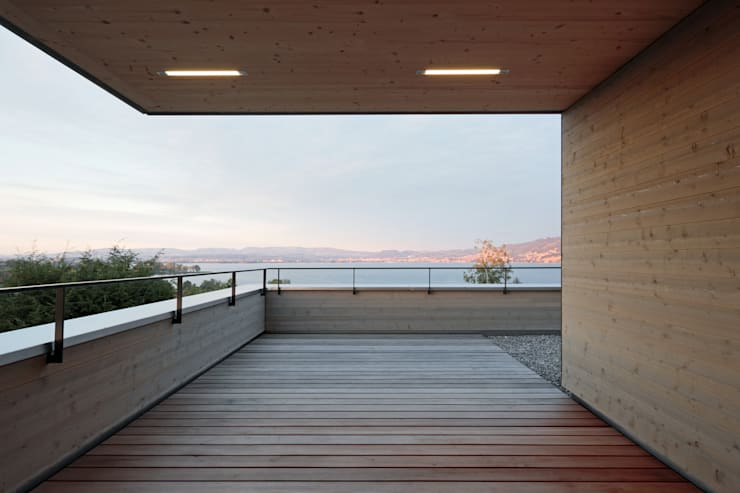 Patios & Decks by HKK Architekten Partner AG