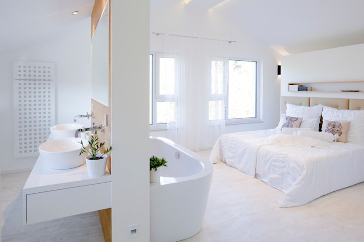 Bedroom by FischerHaus GmbH & Co. KG