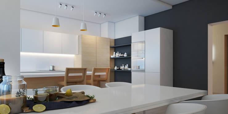 Кухни в . Автор – ZIKZAK architects