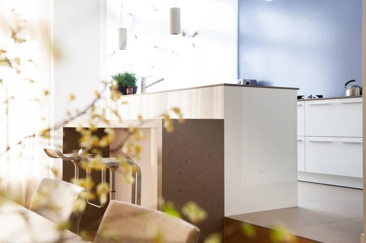 Keuken:  Keuken door Studiohecht