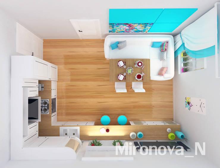 Весенняя свежесть: Кухни в . Автор – Наталия Миронова