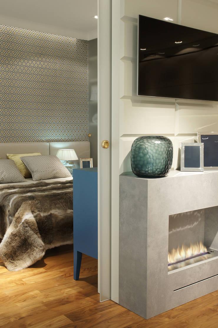 Sypialnia: styl , w kategorii Sypialnia zaprojektowany przez SAFRANOW