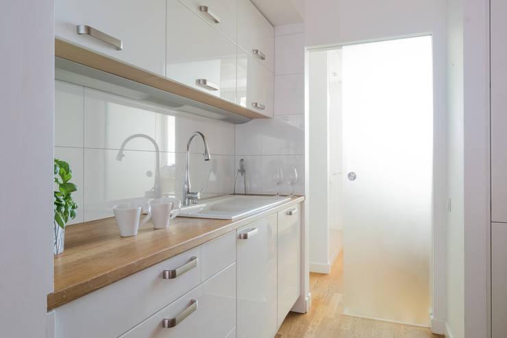 مطبخ تنفيذ Jacek Tryc-wnętrza