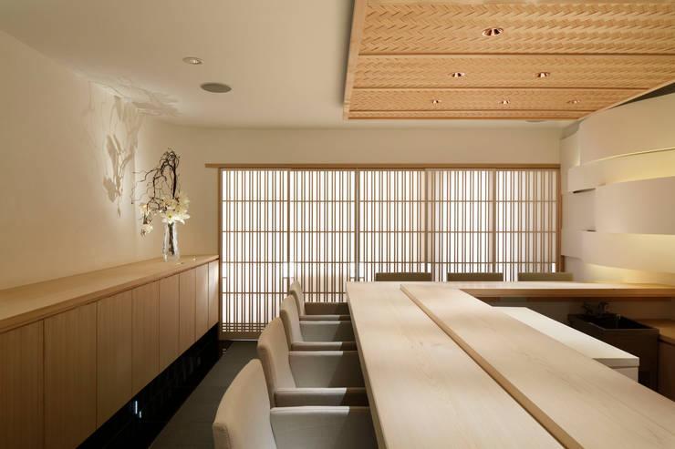 sushi nishioka Minimalistische gastronomie van mattch Minimalistisch