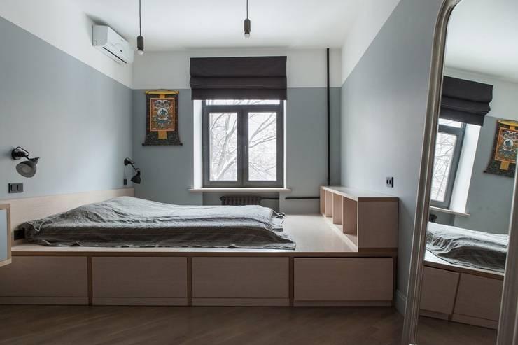 Flat K: Спальни в . Автор – KOPNA