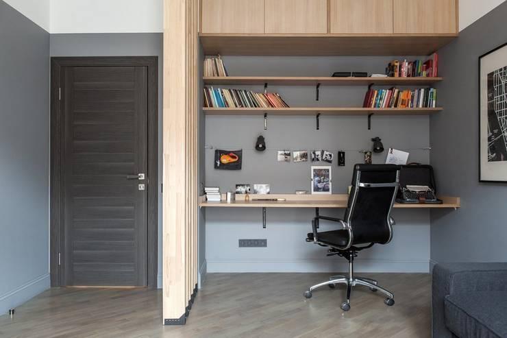 Flat K: Рабочие кабинеты в . Автор – KOPNA