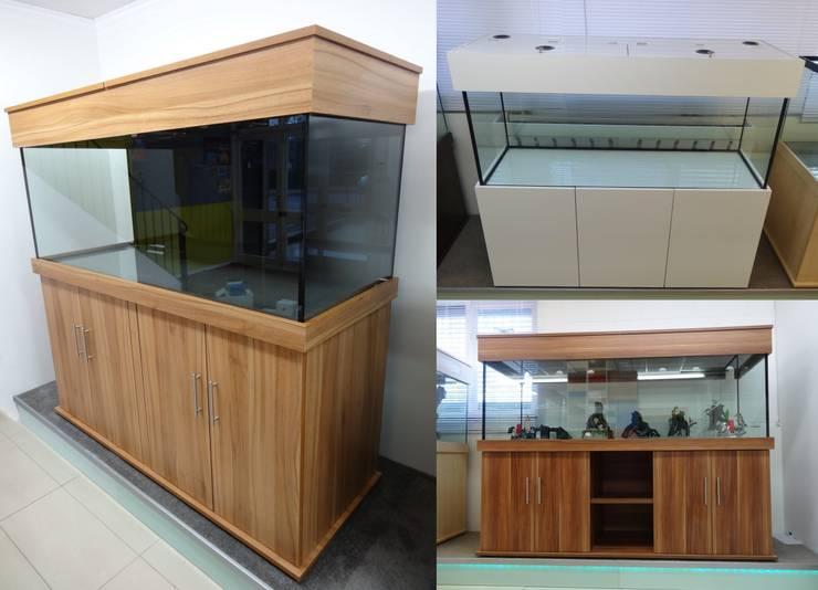 Prime Aquariums Ltdが手掛けたリビングルーム
