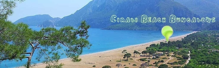 Cıralı Beach Bungalows – Çıralı Beach Bungalows:  tarz Evler, Akdeniz
