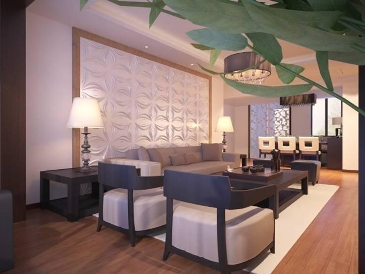 Diva Yapı – 3D GOLD PANEL:  tarz Duvarlar