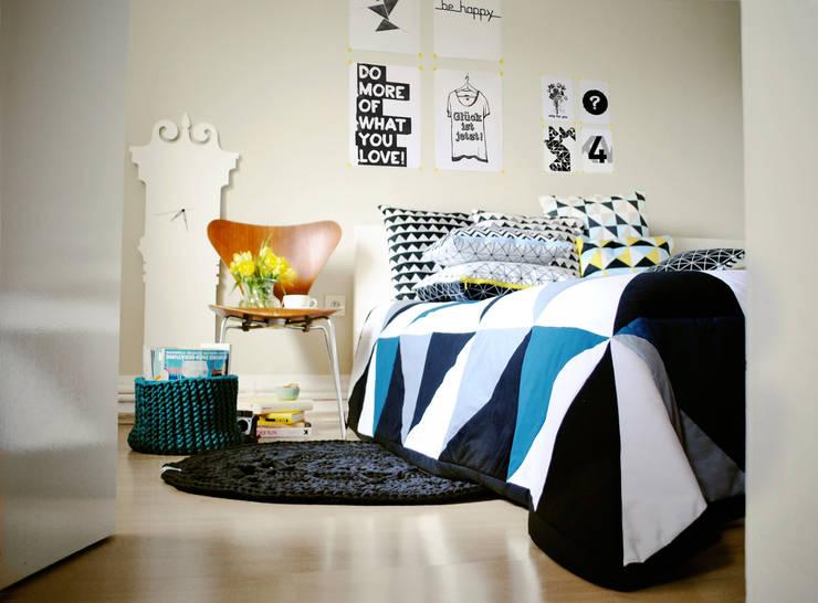 غرفة نوم تنفيذ Villka Hillka