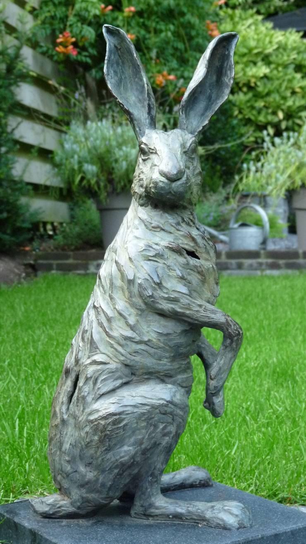 Jeanette Jansen Bronzen Beelden.Bronzen Beelden Van Kunstenares Jeanette Jansen Door