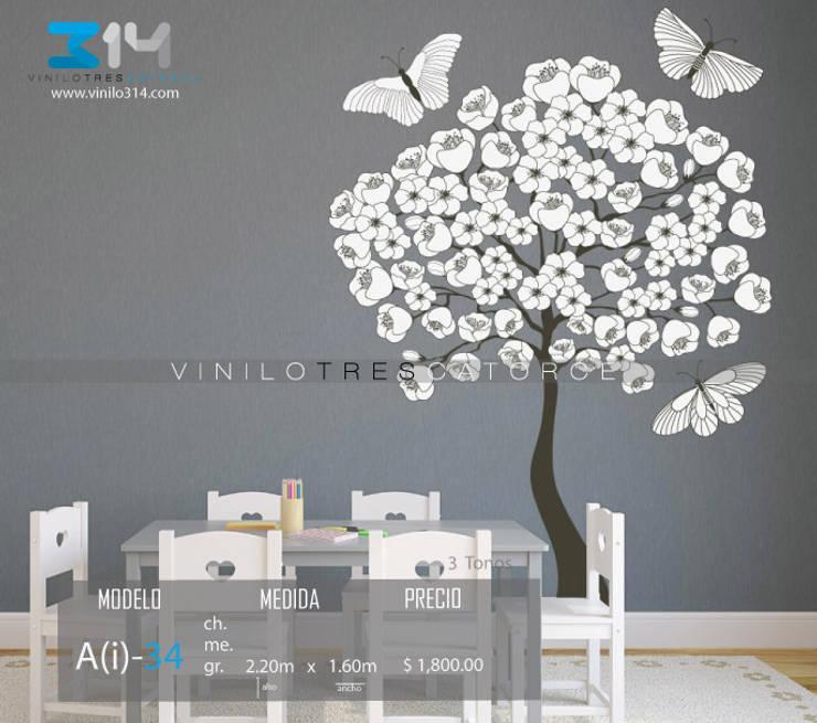 Vinilo314:  tarz Çocuk Odası