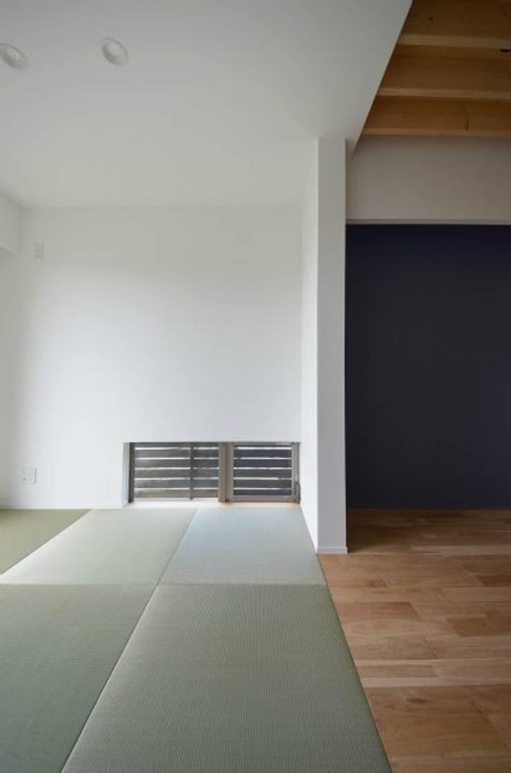 湖西の家: 岩田建築アトリエが手掛けた和室です。