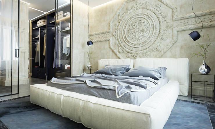 Апартаменты в Санкт-Петербурге: Спальни в . Автор – Наталья Озерова,