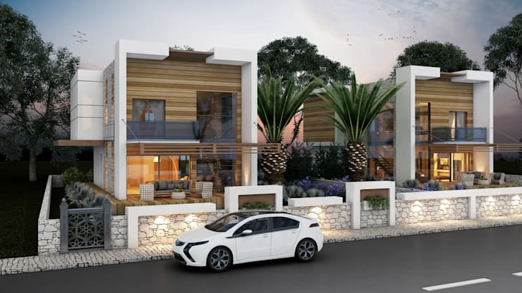 Modern Houses by MİNERVA MİMARLIK Modern