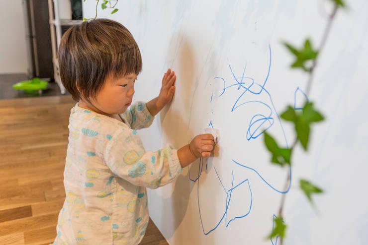 共働き&育児が捗るリノベーション。: mktg3が手掛けたです。