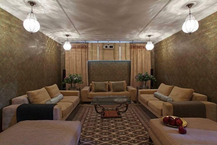 Загородный дом 360м2: Медиа комнаты в . Автор – Tatiana Ivanova Design