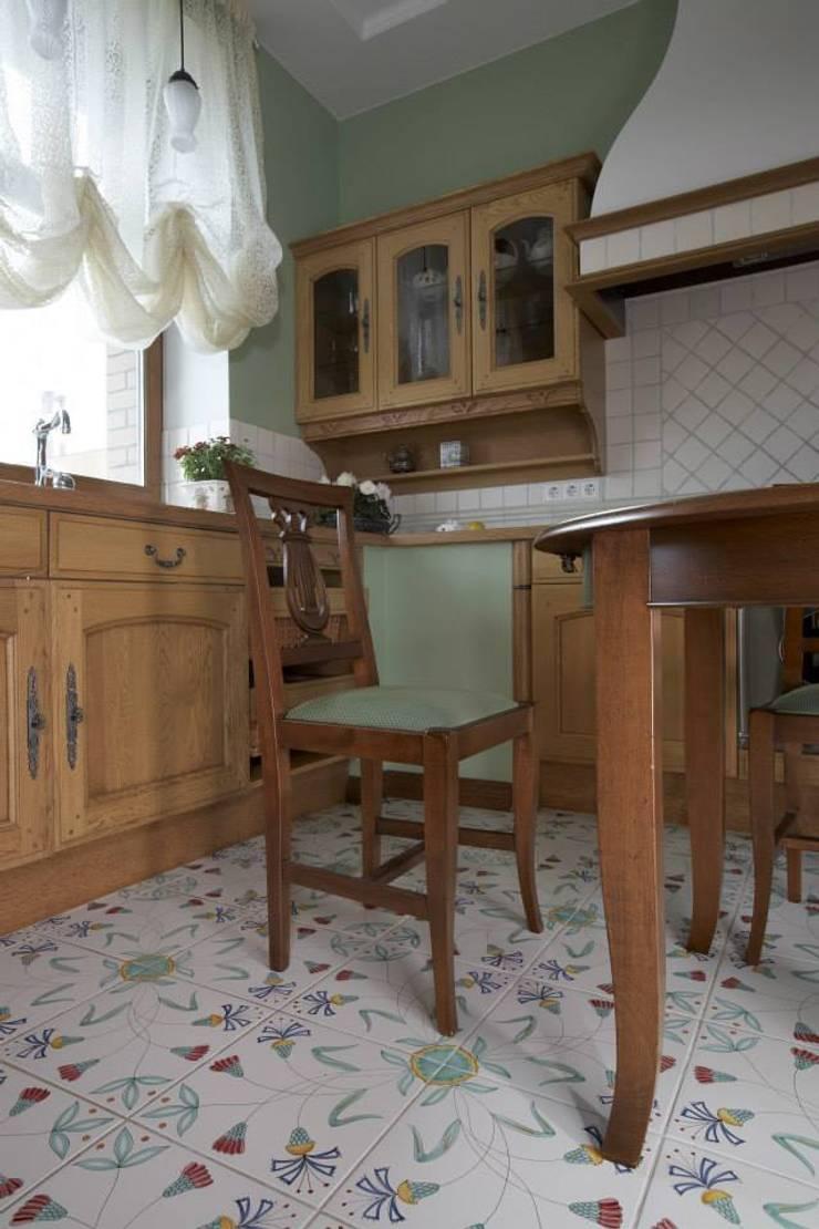 Квартира 135 м2: Кухни в . Автор – Tatiana Ivanova Design