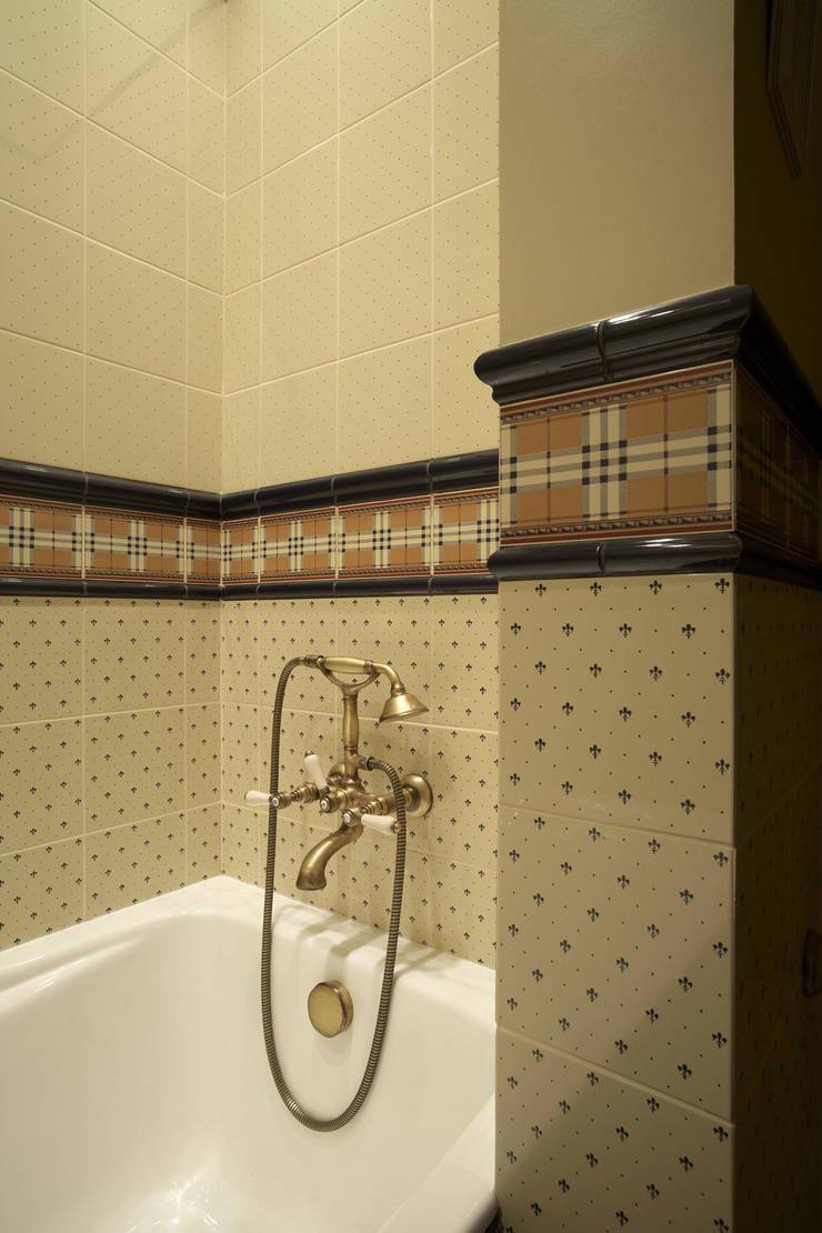 Квартира 135 м2: Ванные комнаты в . Автор – Tatiana Ivanova Design