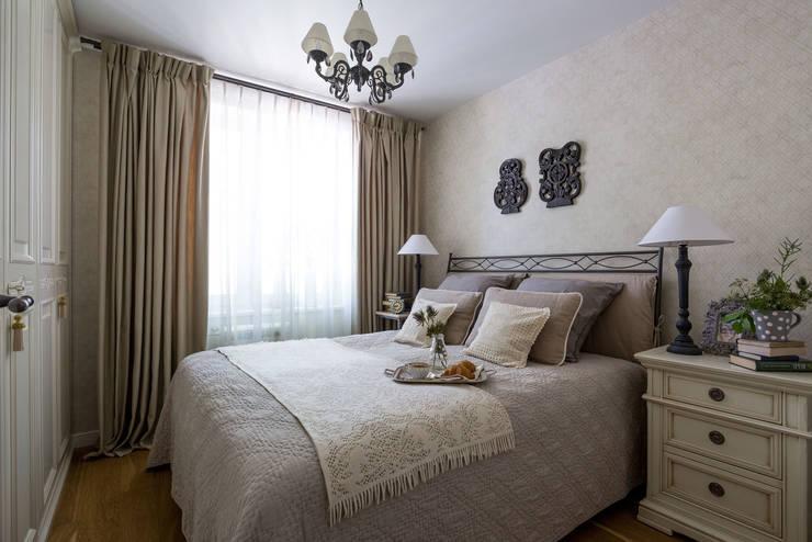 Квартира 61м2: Спальни в . Автор – Tatiana Ivanova Design