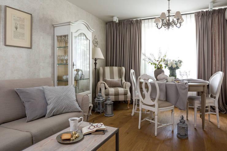 Квартира 61м2: Гостиная в . Автор – Tatiana Ivanova Design