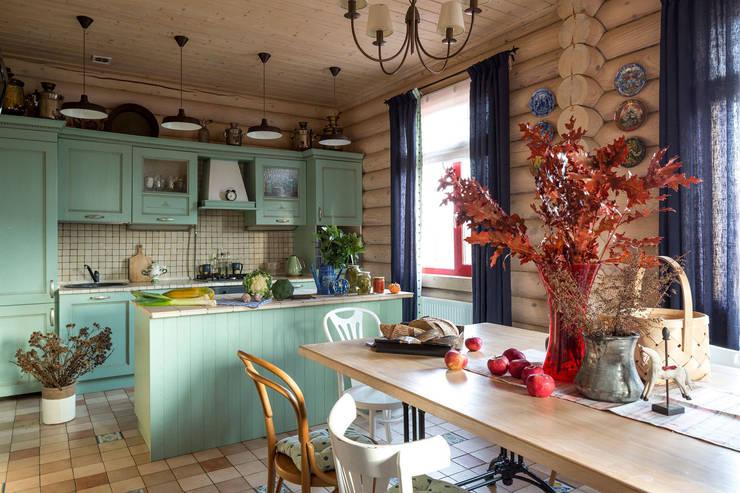 Дача 180м2: Кухни в . Автор – Tatiana Ivanova Design