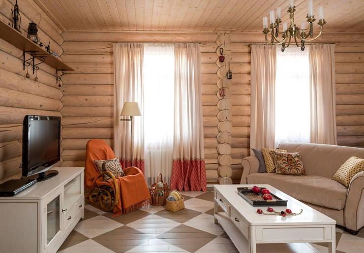 Living room by Tatiana Ivanova Design