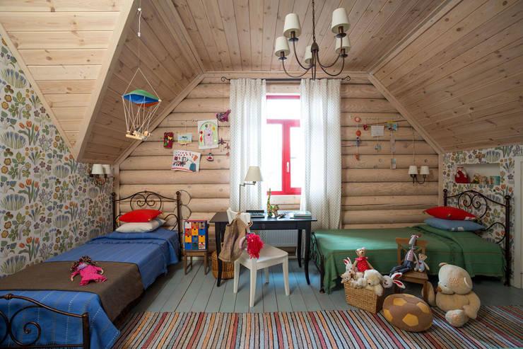 Дача 180м2: Детские комнаты в . Автор – Tatiana Ivanova Design