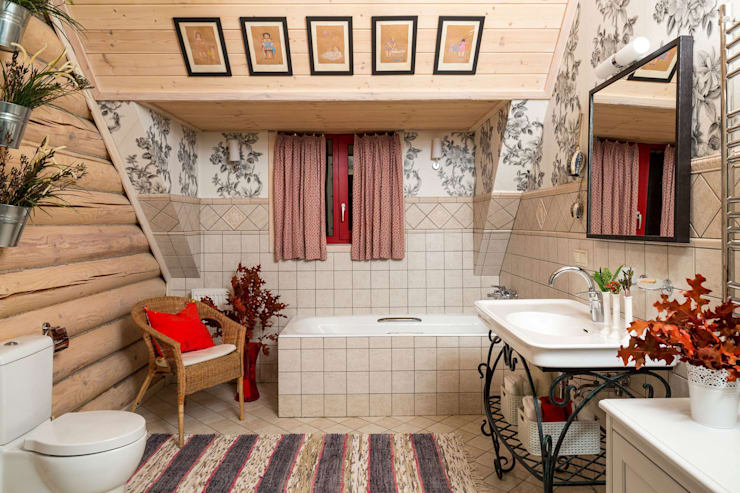 Baños de estilo  por Tatiana Ivanova Design