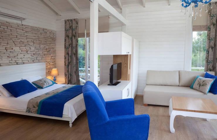 SAKLI GÖL EVLERİ – Saklı Göl Evleri:  tarz Yatak Odası