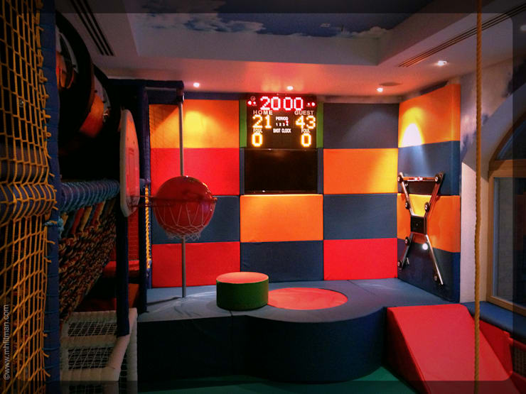 Physical Activities Room - Russia:  Nursery/kid's room by Mark Healy Fitness Management
