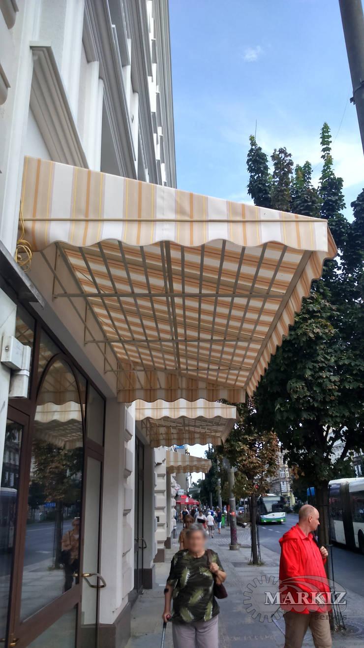 Markizy koszowe: styl , w kategorii Okna i drzwi zaprojektowany przez Markiz Serwis