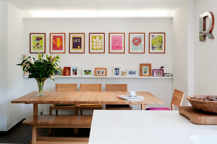 Updated 1970's property: modern Kitchen by Gail Race Interiors