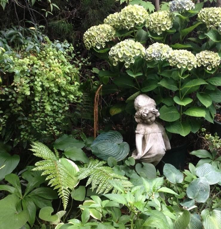 シェードガーデン: Green Team  coが手掛けた庭です。